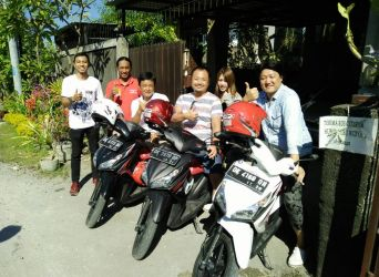 Backpacker with Yutaka and friend's, enjoy Bali